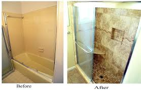bathroom remodeling ideas before and after shower before and after bathroom renovation ideas diy small bathroom