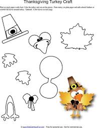turkey craft template 28 images learn and color thanksgiving