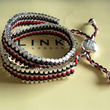 red links bracelet images Links of london friendship bracelet black white and red doub jpg