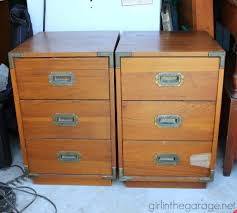 trunk style bedside tables furniture pb inspired trunk bedside table makeover in the