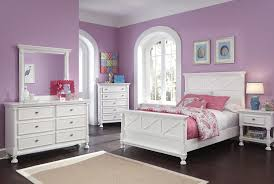 bright white queen panel bed with cottage details by signature