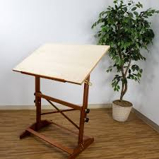 Small Drafting Table Small Wooden Drafting Table Beblincanto Tables Wooden Drafting