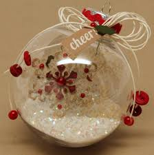 christmas ornament this would be great with a snowflake made