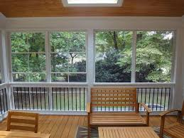 eze breeze with deckorator balusters by raleigh sunrooms three