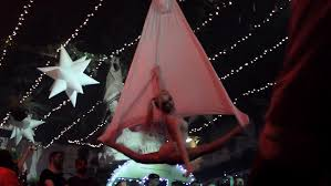 harley quinn squad aerial yoga hammock cosplay act voodoo