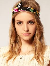 tie headbands flirty hair accessories ideas