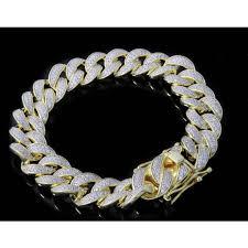 cuban link bracelet men images Mens miami link cuban link bracelet necklace jpg