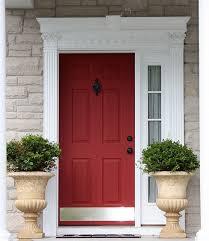 Exterior Door Kick Plate Front Door Reimagined Builder Grade Doors And Front Doors