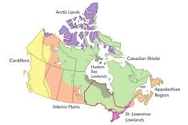 North America Ice Age Map by Ontario The Canadian Encyclopedia