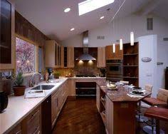 Kitchen With Track Lighting by Cozy Kitchen Design Ideas Using Wonderful Slate Appliances Track