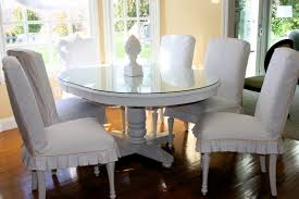 Distressed Kitchen Tables Checkitoff Slipcovers U0026 A Painted White Kitchen Table