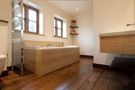 Wood Floor Bathroom Ideas Bathroom Wood Floors Bathroom Hardwood Installing In Faux