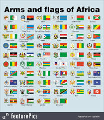 Flag Of The Central African Republic Illustration Of Arms And Flags Of Africa