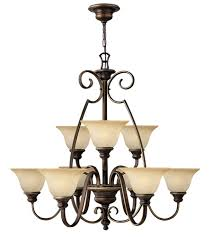 antique bronze ceiling lights hinkley 4568at cello 9 light 36 inch antique bronze chandelier