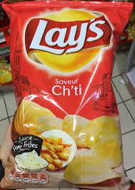 cuisine ch ti saveur ch ti sauce pom frites lay s 120 g