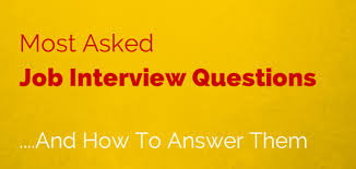 How To Answer Resume Questions Most Asked Job Interview Questions And How To Answer Them