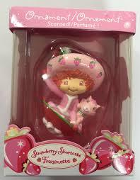 strawberry shortcake ornament fraisinette scented american