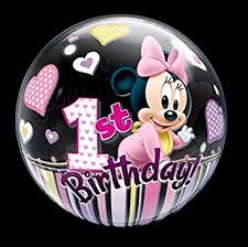baby minnie mouse 1st birthday 22 minnie mouse 1st birthday balloons baby