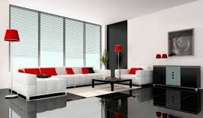 comfy white sectional sofa polished black floor tile fancy