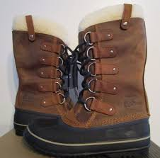 ebay womens winter boots size 11 womens size 6 11 sorel joan of arctic shearling leather winter