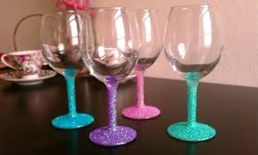 wine glass gifts 15 painted wine glass designs