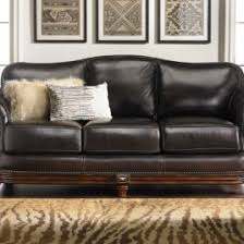 hermitage topgrain leather u0026 down sofa haynes furniture top grain