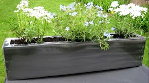 Corrugated Metal Planters by Corrugated Metal Planters Best Metal Planters Ideas