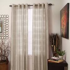 Sheer Metallic Curtains Striped Sheer Curtains Home Design Ideas And Pictures