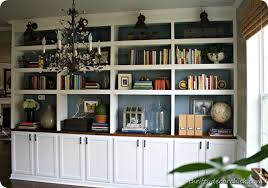 Enclosed Bookcases Library Bookcases Done Boom From Thrifty Decor