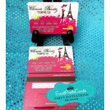 Black Card Invitation Credit Card Invitations Pink