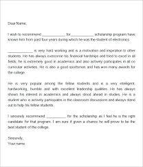 letter of recommendation format template mediafoxstudio com