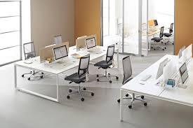 bureau paysager atao piètement o bureaux pour plateau paysager clen office