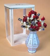 3d Flower Vase Card Craft Card Making Templates Beautiful 3d Flower Vase By