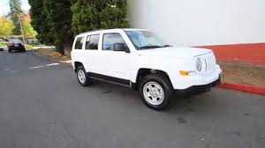white jeep 2016 2016 jeep patriot sport white gd500930 redmond seattle