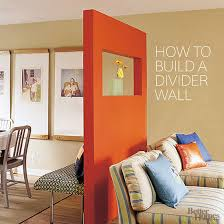 how to build a bedroom how to build a freestanding divider wall better homes gardens