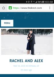 knot wedding website stargazing theme wedding royal blue black and indigo the knot