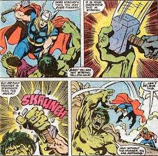 has hulk ever caught thors hammer in midswing hulk comic vine