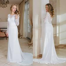 cheap vintage wedding dresses 2017 vintage sleeves lace a line wedding dresses crew