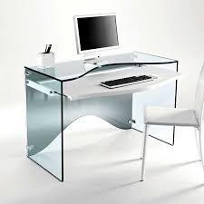 Glass Office Desks Glass Office Desk For Gorgeous And Modern Office Office Architect