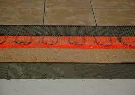 cork tile floor i installation i underlayment