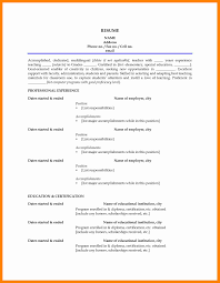 College Lecturer Resume Sample Good Resume For Faculty Position