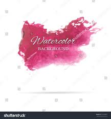 texture for logo beautiful abstract red watercolor art hand stock vector 735720685