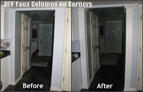 my so called diy blog faux columns on corners