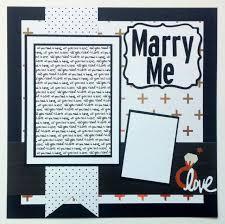 wedding scrapbook page engagement scrapbook page wedding scrapbook scrapbook page
