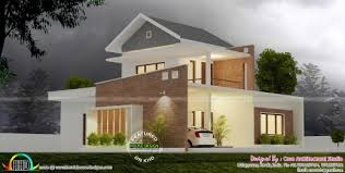 home design kerala 2017 stylish 4 bedroom modern home in 1710 sq ft kerala home design and