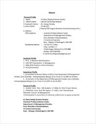 resume personal profile example resume personal profile sample