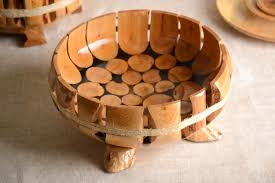 Kitchen Gift Ideas by Madeheart U003e Beautiful Handmade Wooden Fruit Bowl Wooden Bowl