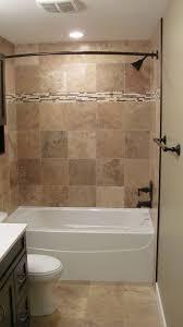 bathroom tub ideas bathroom looking brown tiled bath surround for small