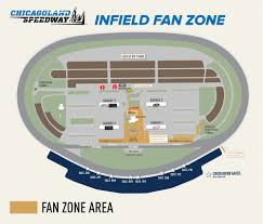 Chicago Area Traffic Map by Chicagoland Speedway Maps Chicagoland Speedway
