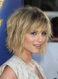 stylish chin length bobs blonde haircuts women medium haircut